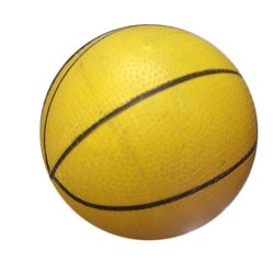 Yellow Sports PVC Basketball