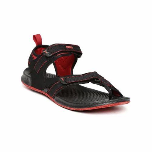 127812f05d88 Men Black Casual Sports Sandal