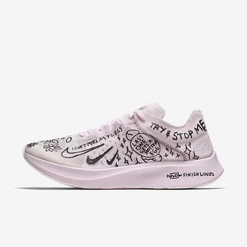 96f0a7d578a4 Pink Men Nike Zoom Fly SP Fast Nathan Bell Shoe