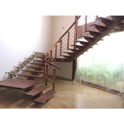 Ordinaire Teak Wood Wooden Staircase