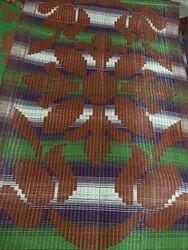 Printed Plastic Mat