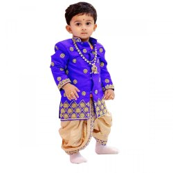 Blue Male Baby Boy Party Wear Dress