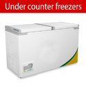 Glass Top Curved Freezer