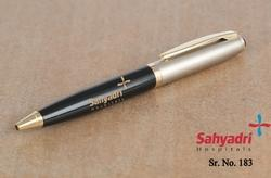 Black And Gold Metal Ball Pen With Combination