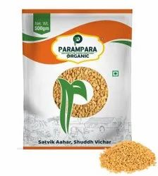 Yellow Organic Fenugreek Seed (Methi), Packaging Type: Pouch, Packaging Size: 500 g