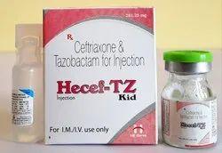 Ceftriaxone & Tazobactam 25 mg Injection