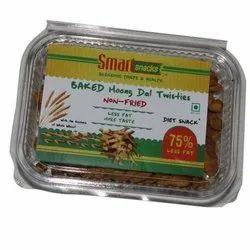 Baked Moong Dal Twistiest Namkeen, Packaging Size: 200 Gm, Packaging Type: Vacuum Pack