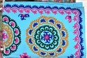 Indian Handmade Cotton Wool Embroidered Bed Cover