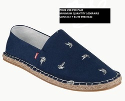 Canvas Male Espadrilles Shoes, Size: 40-44