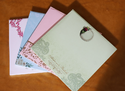 Wedding Colored Invitation Card