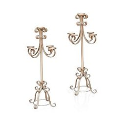 IR176 Fancy Candle Stand
