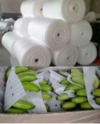 White Banana packing Foam