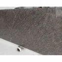Brown Granite Slab, 17mm To 18mm