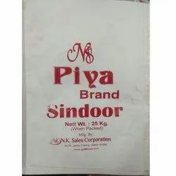 Piya Brand Sindoor Powder