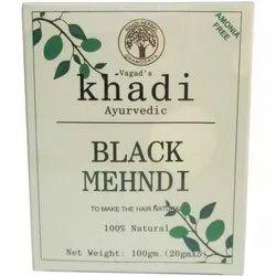 Khadi Ayurvedic Black Mehndi, Pack Size: 100 gm, for Personal