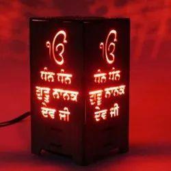 Myphotoprint Customized Ekonkar Satnam Waheguru LED Lamp Corporate Gifts/Promotional Gifts
