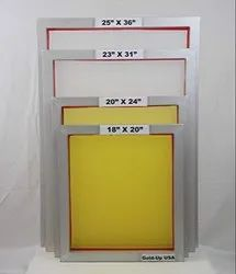 New Aluminium Pre Stretched Frames, For Screen Printing, Automation Grade: Semi Automatic