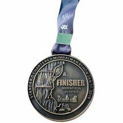 42.195m Brass Marathon Medal