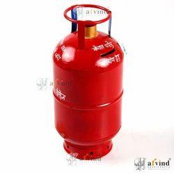 Red Handicraft Gas Cylinder Bank
