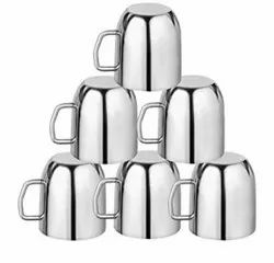 Tea Cup Double Wall Set Of 6 Pcs