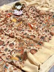 soft Kanjiwaram weaves saree