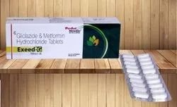 Gliclazide 80 mg & Metformin 500 mg (Sustained Release Tablets)