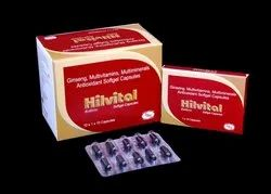 Ginseng, Multivitamin & Mutlimineral Softgetatin Capsules