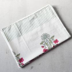 White Cotton Handmade Napkin