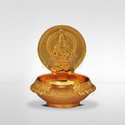 Mantra Gold Plated Ayyappan Vilakku
