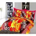 Floral Cotton 3D Bedsheets