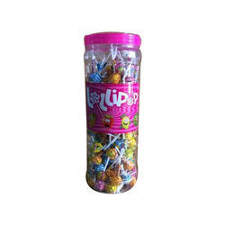 Candies Mix Flavoured Lollipop, Packaging Type: Plastic Jar