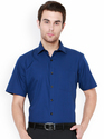 Blue Formal Mens Shirts