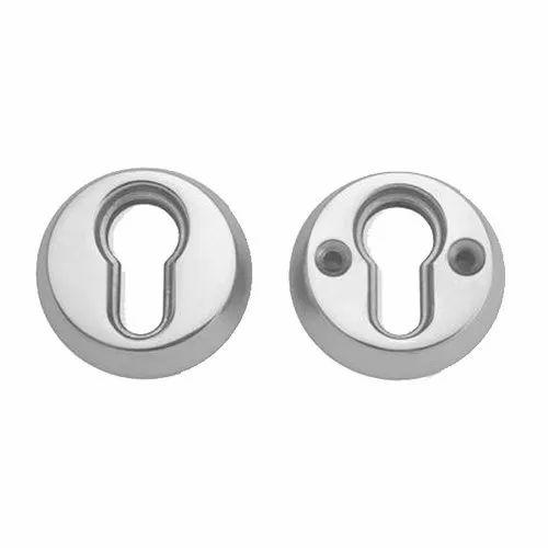Securit Plain Keyhole Escutcheon Lock Key Hole /& Screws Chrome Plated Open Cover
