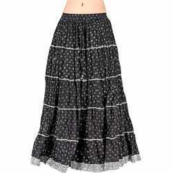 Rajasthani Pure Cotton Long Skirt -190