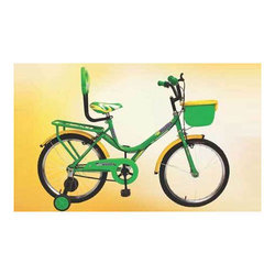 Green, Yellow Atlas Discover HR Bicycle, Size: 20 inch