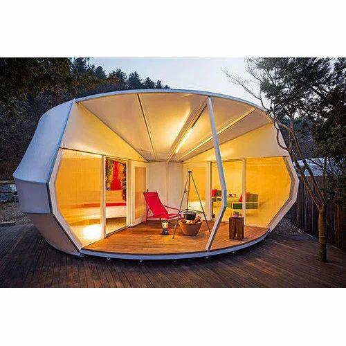 White Modular Cottage Tents  sc 1 st  IndiaMART & White Modular Cottage Tents Rs 500 /square feet Design Fawz   ID ...