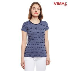 Vimal Cotton Large Ripped Look Tops for Women