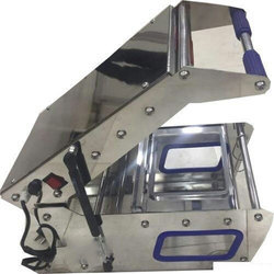 2 Compartment Meal Tray Sealing Machine