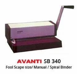 AVANTI SB 340 Spiral Binders