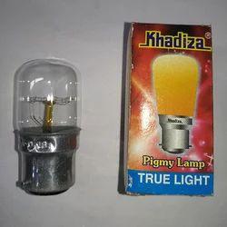 Flat Top Aluminum Pigmy Lamp B22 Clear (khadiza), Base Type: B22