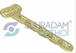 2.4/2.7mm LCP Distal Radius Volar Extra articular Locking Plate 4 hole head