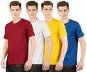 Men's Plain Round Neck T Shirt
