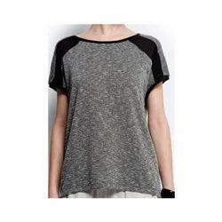 Sharva Fashion Medium and Large Girls trendy self sleeve top