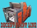 Two Color Non Woven Sheet Fed Offset Printing Machine