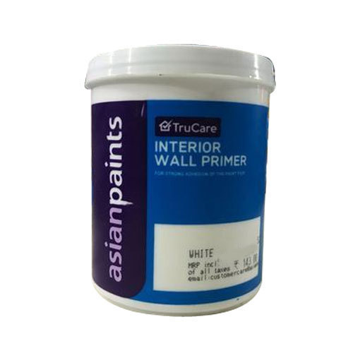 Asian Paints White Asian Trucare Paint Interior Wall Primer 20 L Rs 2150 Piece Id 20297911712