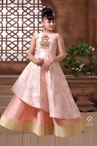 Party Wear And Wedding Wear Kids Alluring Gown, Rs 1599 /piece | ID ...