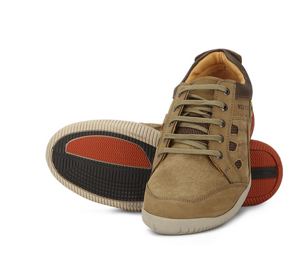 Mens Camel Low Ankle Casual Shoe RC5049