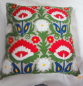 Cotton Embroidery Sofa Cushion