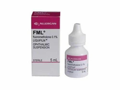 FML Fluorometholone Ophthalmic Suspension