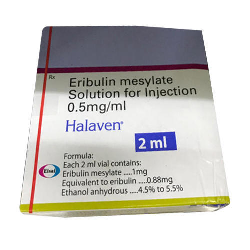 Eribulin Mesylate Solution Injection, Usage:Personal and Hospital